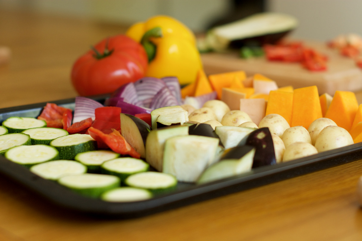 Healthy food, vegetables, good food choices