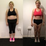 Nicola - before and after