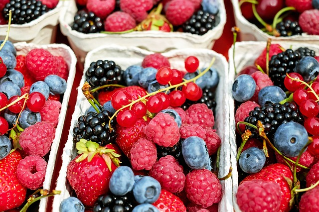 A picture of berries