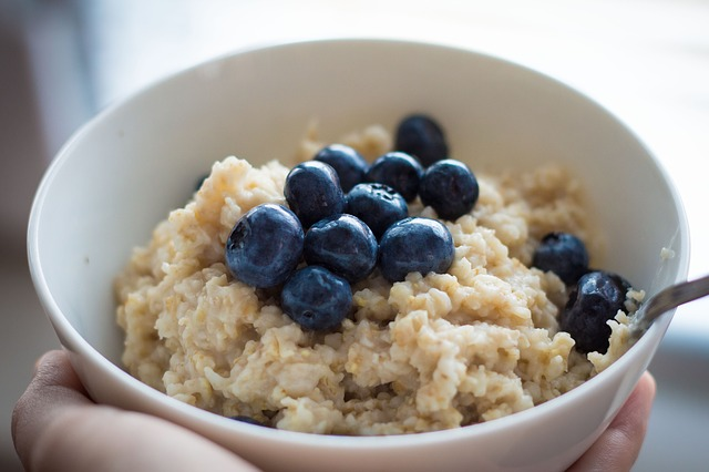 A picture of oats