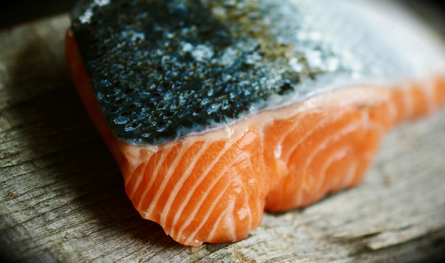 A picture of salmon