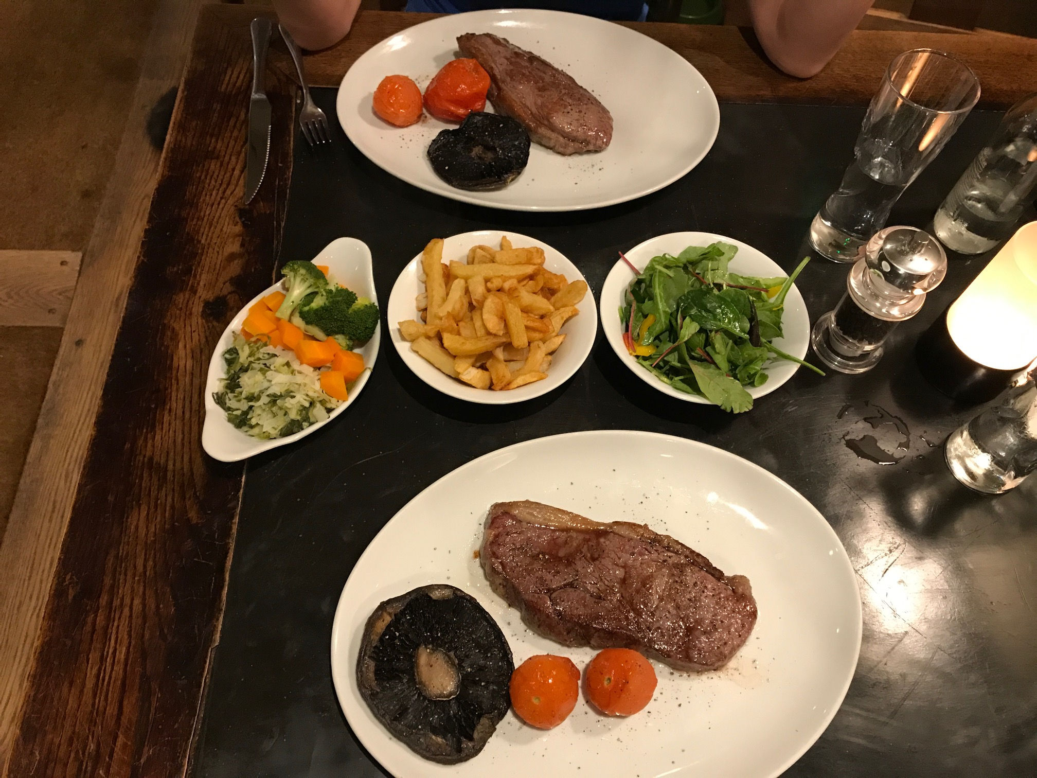 What would you choose from this menu? Pub meal chosen by Northampton Personal Trainers Life Force Fitness