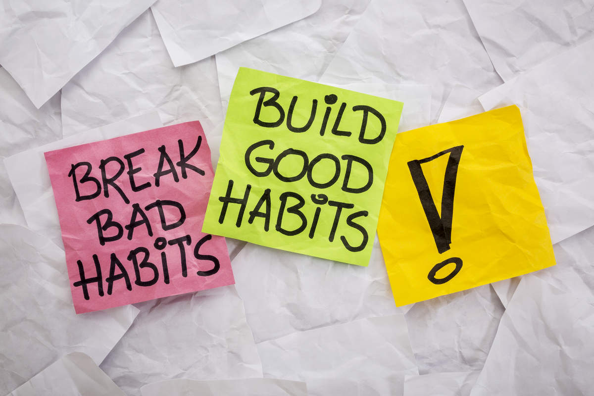 Break your bad habits of a lifetime. Habits affect your life a lot more than you realise. Change the bad ones, create new good ones.