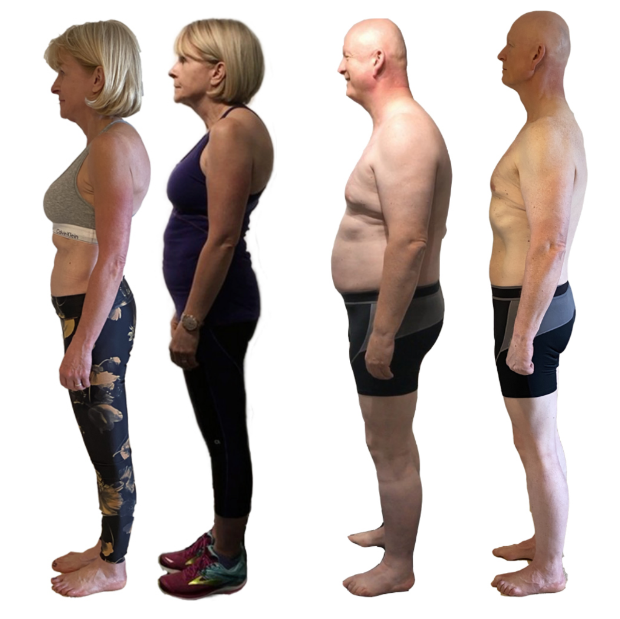 Image showing Duncan and Tracy's transformation