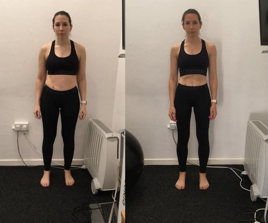 Claire comparison photo